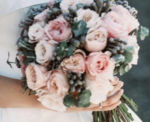 Svatební kytice - pozadí