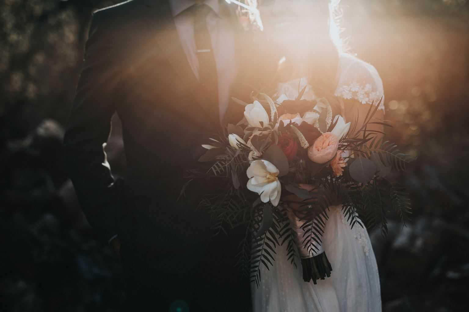 Svatební obřad v zámecké zahradě v Holešově